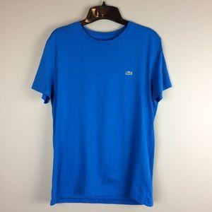 Lacoste blue crew neck Men's t-shirt size 4/US S